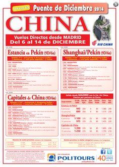 Capitales de CHINA - Puente de Diciembre - sal. 6 de Diciembre dsd Madrid (9d/6n)p. final dsd 1.755€ ultimo minuto - http://zocotours.com/capitales-de-china-puente-de-diciembre-sal-6-de-diciembre-dsd-madrid-9d6np-final-dsd-1-755e-ultimo-minuto/