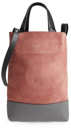 0aabb1ef6e88 online shopping for RAG   BONE Walker Convertible Suede   Leather Tote from  top store. See new offer for RAG   BONE Walker Convertible Suede   Leather  Tote