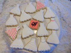 Bridal Shower Cookies Tangerine