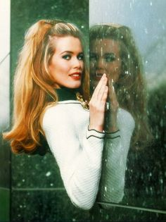 Claudia Schiffer for Chanel, fall 1993