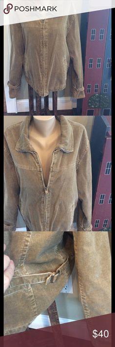 NEW PRICE🎉Lucky Brand corduroy jacket Tan Lucky Brand corduroy jacket. Runs big. Lucky Brand Jackets & Coats