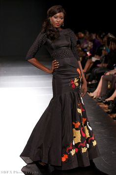 African Fashion - Designer: House of Farrah (Nigeria) African Inspired Clothing, African Print Fashion, Africa Fashion, Fashion Prints, Fashion Design, African Prints, African Attire, African Wear, African Women
