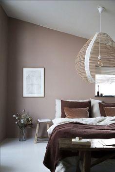 Peinture couleur taupe : inspirations pour la chambre à coucher - Côté Maison