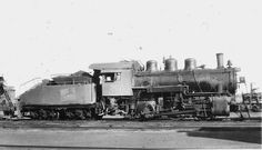 Stephen Phillips-Steam Locomotive Photographs 21 May 2018 CNR , No7411, class O-12 , MLW.1919 , at Saskatoon Sask. 10-1953.... H.K.Vollrath, collection
