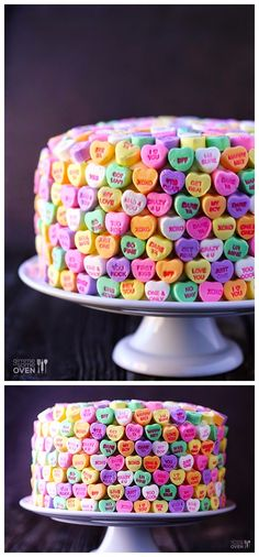 It's yummy Strawberries and Cream cake too. It's yummy Strawberries and Cream cake too. Strawberry Cream Cakes, Strawberries And Cream, Conversation Hearts Recipe, Valentines Day Cakes, Valentine Recipes, Converse With Heart, Cake Cover, Nigella Lawson, Savoury Cake