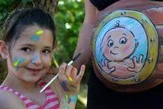 """Résultat de recherche d'images pour """"body painting femme enceinte"""""""
