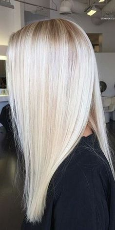 New Hair Goals Color Inspiration Platinum Blonde Ideas Platinum Blonde Hair Color, Blonde Color, Platinum Blonde Highlights, Frontal Hairstyles, Cool Hairstyles, Braid Hairstyles, Blonde Wig, Icy Blonde, Ice Blonde Hair