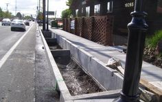 SE Stark St, stormwater planter - COMING SOON