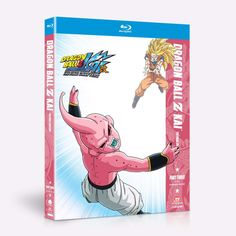 Dragon Ball Z Kai Part 3 contains episodes 145-167.  With their efforts to stop Majin Buu quickly proving futile, the Z Fighters have only one hope against this seemingly invincible foe the Fusion technique. Will the combined power of two Saiyan warriors be enough to stop Majin Buu once and for all? The final battle for the fate of the universe begins!
