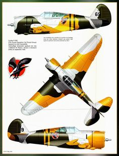 Aérojournal N°23 Curtiss P-36 C
