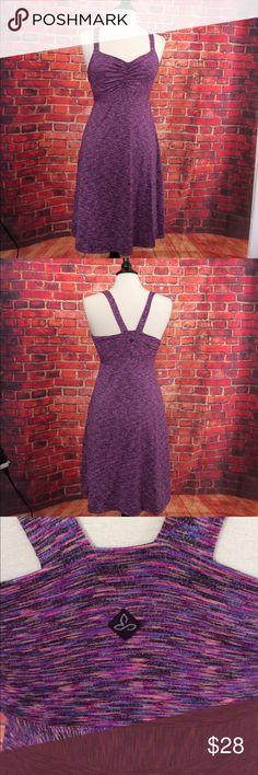 Prana purple multicolor yoga athletic dress M Prana purple multicolor yoga athletic dress M Prana Dresses