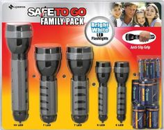 CPSC - BJ's Recalls LED Flashlight Sets Due to Fire and Burn Hazards