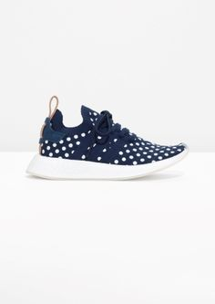 & Other Stories image 1 of adidas NMD R2 PK W in Collegiate Navy