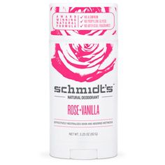 Rose & Vanilla Deodorant Stick