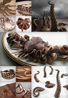 Gorgeous Octopus Kraken Tentacles by David Bielander, Simon Bielander, Mary O'Malley and others