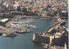Heraklion, Koules (venetian castle) & old port