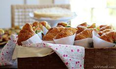 Ahi Tuna Croissant Sandwiches with Horseradish-Thyme Aioli