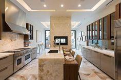 Large open kitchen in Upper East Side townhouse Manhattan 18mil [1024x684] http://ift.tt/2nESLST