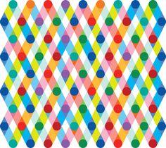 Connect the Dots - Pentagram redesign for Mohawk Motifs Textiles, Textile Patterns, Paper Patterns, Geometric Patterns, Pretty Patterns, Color Patterns, Surface Pattern, Surface Design, Grafik Design