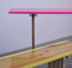 r i v i e r a: 'flat table peeled' by Jo Nagasaka