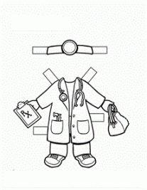 Doctor Paper Doll For career day! Doctor Paper Doll Worksheet and Community Helpers Worksheets, Community Helpers Preschool, Classroom Activities, Activities For Kids, People Who Help Us, Community Workers, Career Day, Kindergarten, Paper Dolls Printable