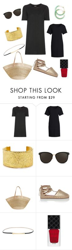 Les Petites Robes Noires by tishjett on Polyvore featuring A.P.C., Canvas by Lands' End, Aquazzura, Flora Bella, Tom Binns, Linda Farrow, B-Low the Belt and Gucci