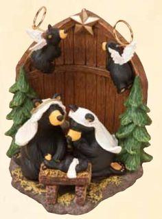 Love these nativity bears!