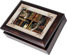 Love this jewellery box! Take a look at it here: https://bestcatproductsintheworld.blogspot.co.uk/2018/01/cat-musical-box.html