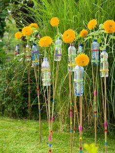 Ein fröhliches DIY für die Sonnenblume - Tollwasblumenmachen.de