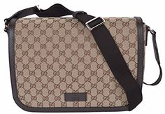 fbe8621a1809 $1205 - Gucci GG Guccissima Canvas Large Crossbody Messenger Bag (449171/ Beige) Gucci