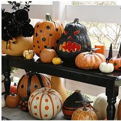 Painted And Carves Pumpkins Pictures, Photos, and Images for Facebook, Tumblr, Pinterest, and Twitter
