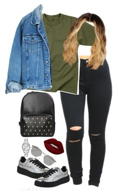 """9.23.16"" by mcmlxxi ❤ liked on Polyvore featuring Puma, Rothco, Linda Farrow, Mestige and Lime Crime"