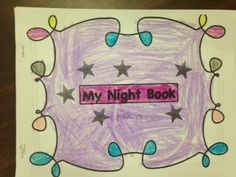 an apple for my class: Day and Night Kindergarten Science and Informative Writing