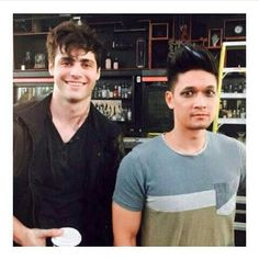 #shadowhunters #malec #photo #bts #Alec #Matthew #Magnus #Harry #funny