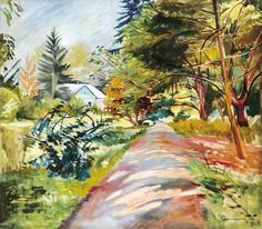 The Sun Garden Path - Géza Bornemisza , 1925 Hungarian, Sun Garden, Garden Paths, Henri Matisse, Paintings, Paint, Painting Art, Painting, Painted Canvas, Drawings