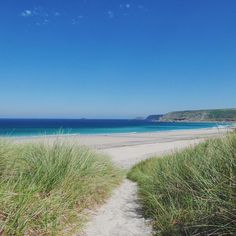 Pathway to paradise Sennen cove