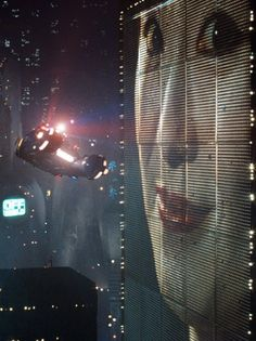 Blade Runner (1982). This image describes the world in 2019 from that movie.