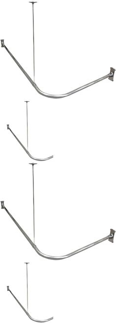 Shower Curtain Rods 168132 Signature Hardware Oval Shower Curtain
