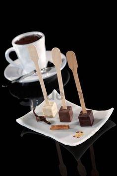Stampi per gelati e cioccolato finger food. www.decosil.it