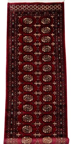 The Design Is Dominated By Rows Of Guls And Surrounding Geometric Patterns Bokhara Rugs Have Excellent Durability Versatility Woole