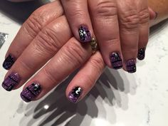 Hollowing nail art  by Iris