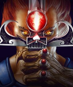 """Lion-O """"Sword of Omens, I command you, by the Eye of Thundera,..."""""""