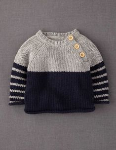 the oslo knitted sweater free knitting pattern httpwwwravelrycompatternslibrarythe oslo - PIPicStats Knit Baby Sweaters, Winter Sweaters, Baby Knits, Baby Boy Sweater, Knitted Baby Clothes, Boys Sweaters, Winter Jumpers, Knitted Baby Cardigan, Toddler Sweater