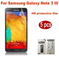 Find More Screen Protectors Information about High Quality 5pcs/lot Clear LCD Ultra Crystal Clear Screen Protector For Samsung Galaxy Note 3 III N9000 Screen Protective Film,High Quality protector windows,China screen protector for samsung Suppliers, Cheap screen protector for psp from Ebag Technology on Aliexpress.com Galaxy Note 3, Psp, Tempered Glass Screen Protector, Galaxies, Films, Samsung Galaxy, Notes, Technology, Crystals