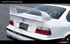 HECKSPOILER HECKFLÜGEL BMW E36 Class II 2 M3 GT Technik rear wing E36 Coupe, Bmw E30, Manual Transmission, Bmw Cars, Super Cars, Wings, Body Kits, Google Search, Autos