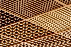 Ideawood | Grid by IDEATEC #architonic #nowonarchitonic #interior #design #furniture #ceiling #panel #acoustic #wood
