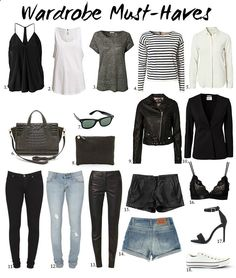 classic wardrobe must-haves