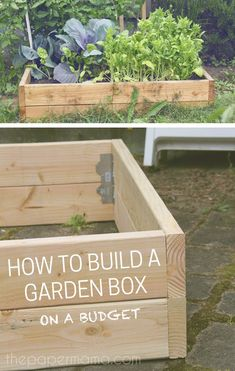 Have a look at this post to locate out how to create a garden box. Is actually very basic costs fewer than buying a prebuilt garden box. Front Yard Garden Design, Garden Design Plans, Backyard Garden Design, Backyard Landscaping, Backyard Ideas, Raised Vegetable Gardens, Vegetable Garden Design, Vegetable Gardening, Low Maintenance Garden Design