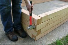 Vertical garden Boxes - How to Build Raised Garden Beds for Growing Vegetables. Building Garden Boxes, Building Raised Garden Beds, Building A Fence, Garden Projects, Garden Tools, Garden Ideas, Vertical Vegetable Gardens, Vegetable Gardening, Garden Planters