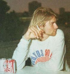 """The sun is gone, but I have a light.""  ― Kurt Cobain"